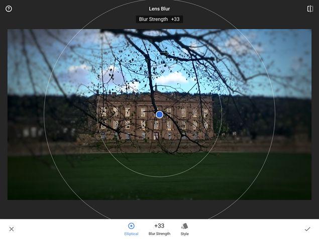 Snapseed IOS de edición de fotos