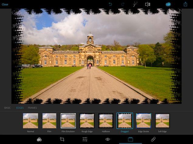 Photoshop Express IOS de edición de fotos