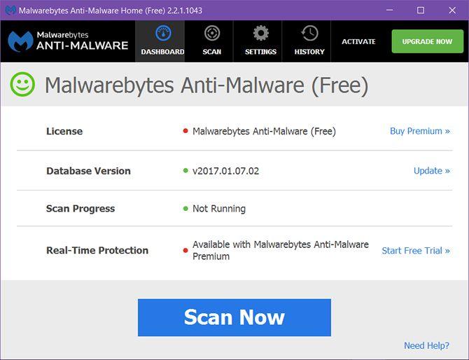 windows-mantenimiento-Tool-Malwarebytes