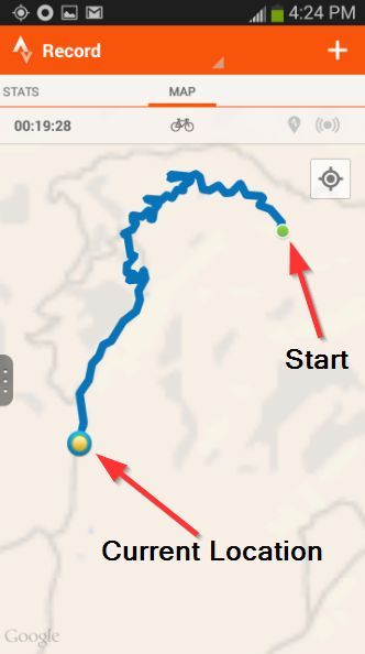 3 Strava - Track & amp; Analizar - Registro de Actividad - Mapa