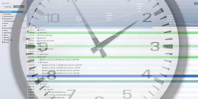 Un seguimiento de cómo gasta el tiempo en tu mac con la sincronización
