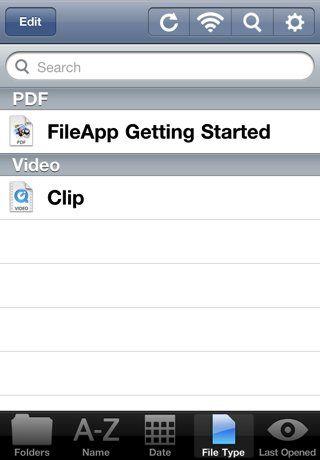 transferencia de archivos de forma inalámbrica