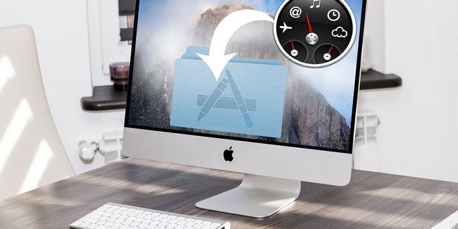 Convertir cualquier widget de panel mac en su propia aplicación