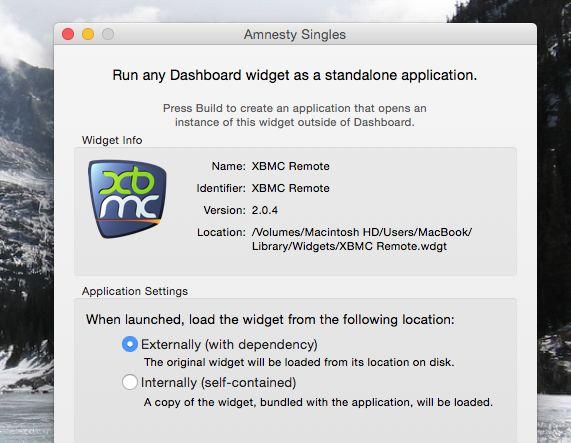amnistía-singles-crear la aplicación