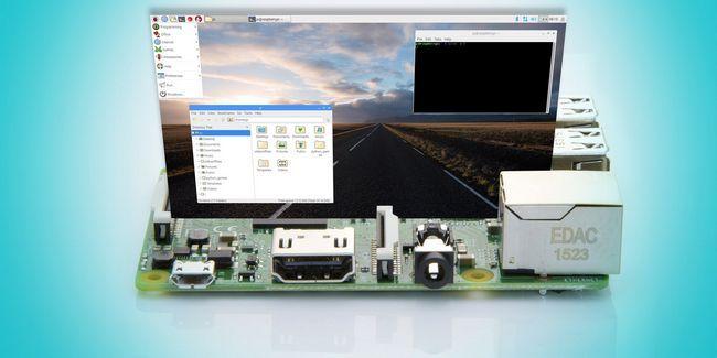 Os raspbian actualización de frambuesa pi con el entorno de escritorio de píxeles