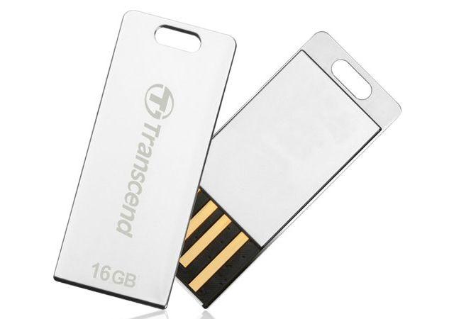 -flash-unidades USB-Transcend JetFlash-delgado