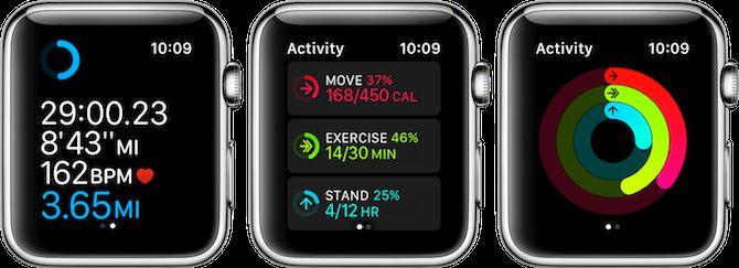 manzana seguimiento de la aptitud del reloj