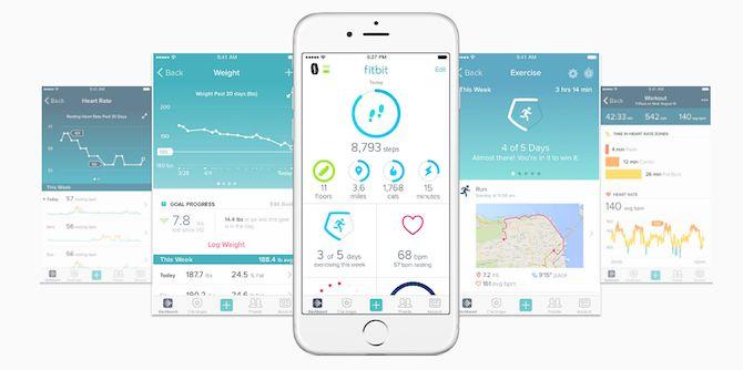 aplicación Fitbit