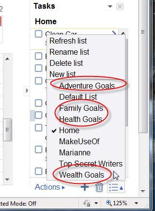 sistema de información de gestión de objetivos
