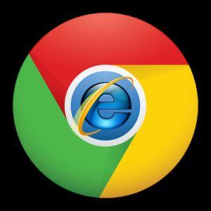 Utilice el explorador de internet en google chrome con ie tab