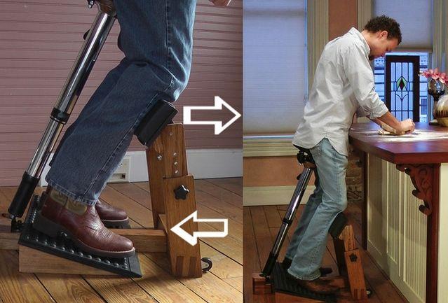 silla de trabajo de pie 10