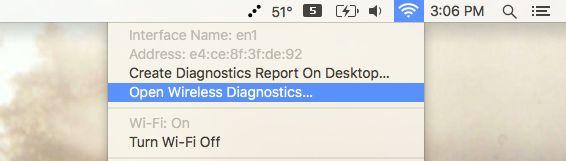 mac-abierta-wireless-diagnóstico