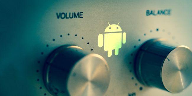 Ajustes de control de volumen para android que tiene que utilizar