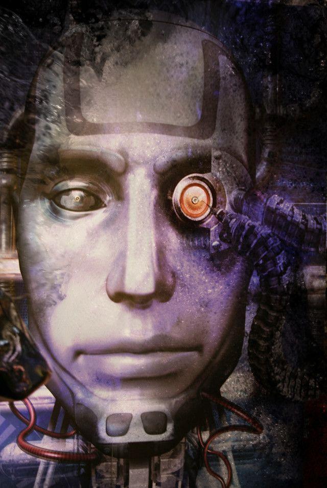 robot de miedo