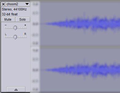 Audacity Audio Mejoras - Nivel de Volumen