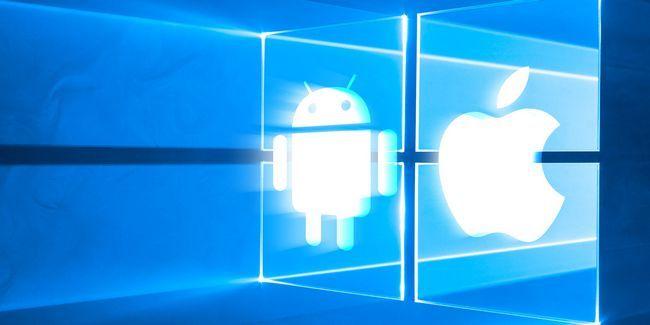 ¿Quieres que tus android y ios aplicaciones favoritas para funcionar en windows 10?