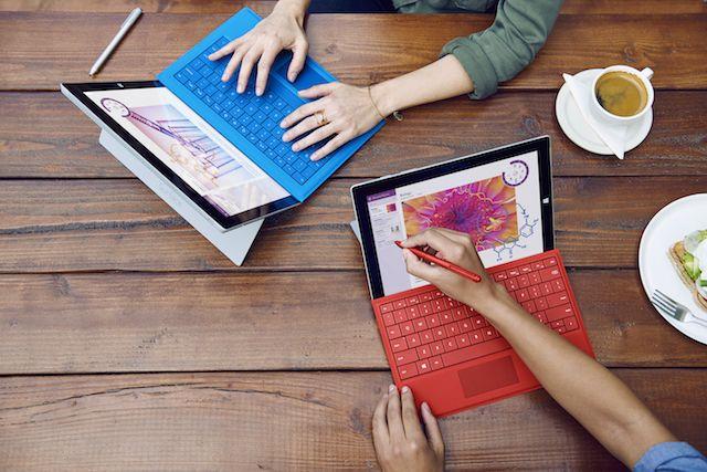 Windows 10-surface3