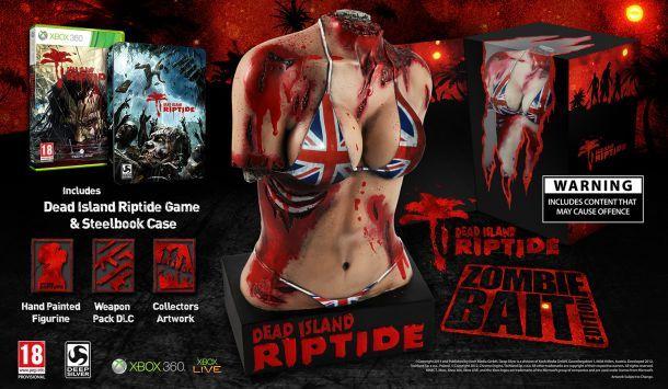 Dead Island Riptide Cebo del zombi Edición