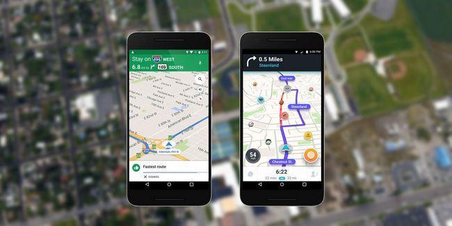Waze vs google maps: la aplicación que se vaya a casa más rápido