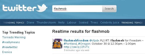 flash mob