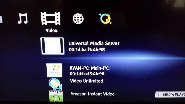 sharing8 medios Cómo flujo multimedia en el PC de Sony Media Player