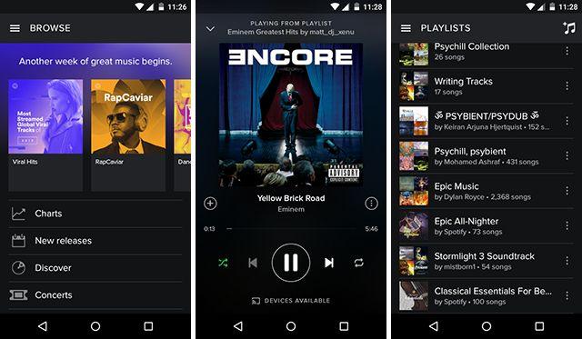 mejor-android-transmisión-app-spotify