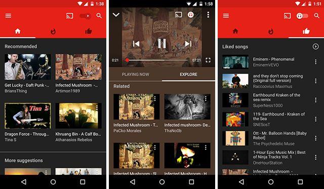 mejor-android-transmisión-app-youtube-música