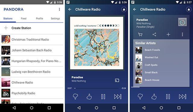 mejor-android-transmisión-app-pandora