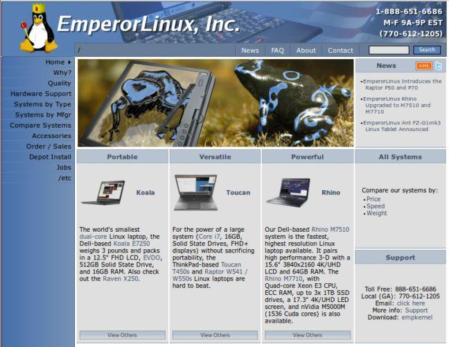 Emperador en Linux