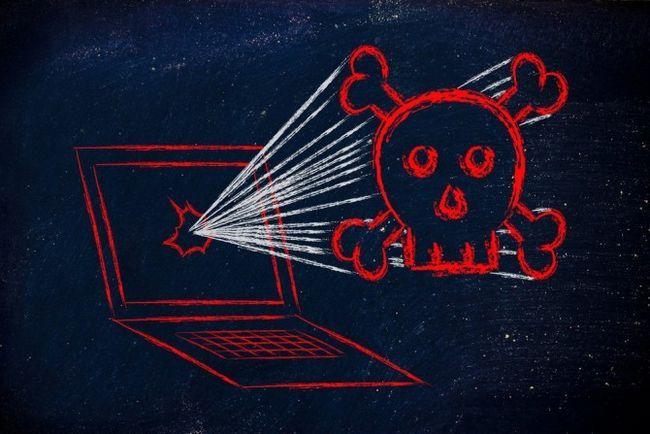 El malware equipo Peligro