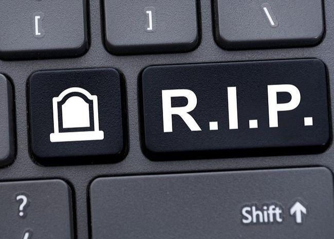 Teclado RIP clave Botón