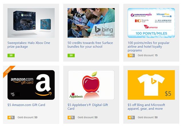 Premios-Bing-recompensas corredimir