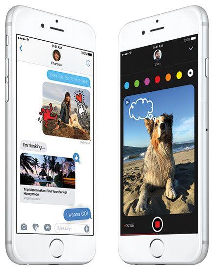 iOS10-Mensajes