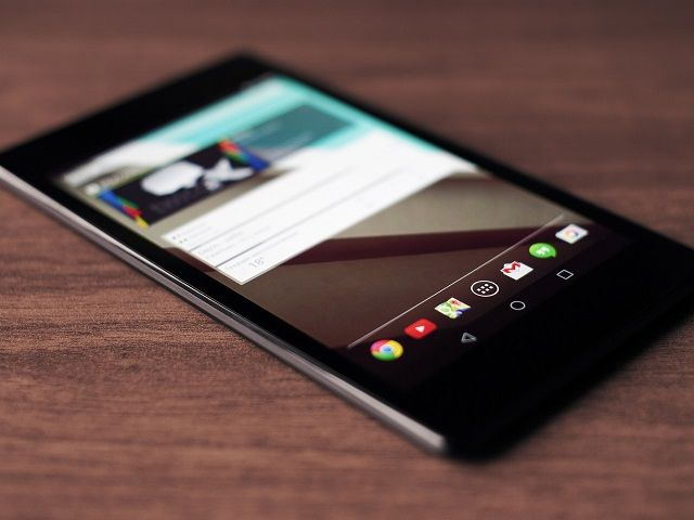 Nexus 7 con Android Lollipop