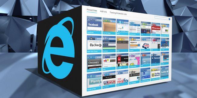 ¿Cuál es la galería de internet explorer trata?