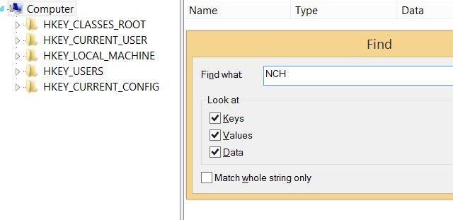 Muo-nch-software-regedit