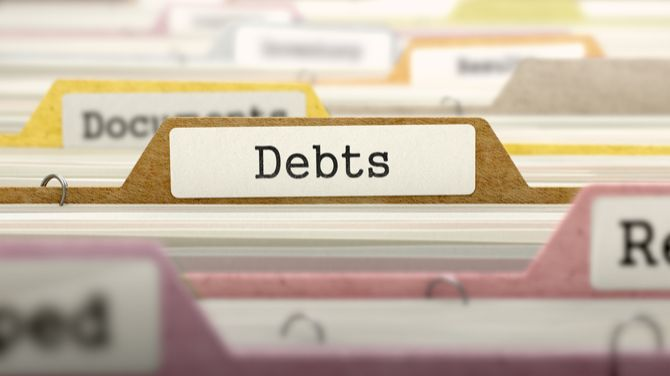 carpeta de deudas
