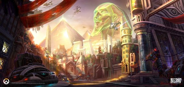 Overwatch Anubis Concept Art