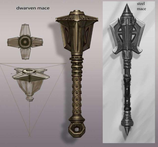 Arte Skyrim Arma Concept