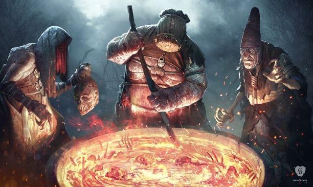 Arte Witcher 3 Concepto