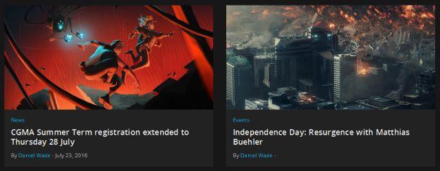 Artstation Sitio Web Artículos de pantalla