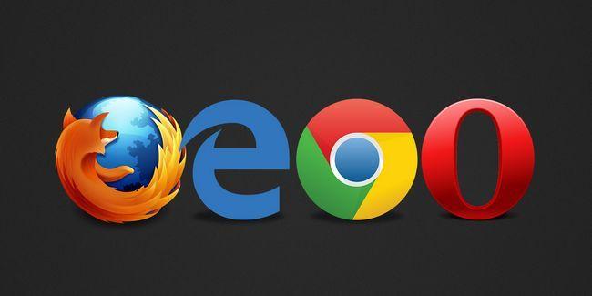 ¿Qué navegador es el mejor? Edge vs chrome vs firefox opera vs.