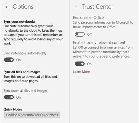 OneNote-funciones-ventanas-settings