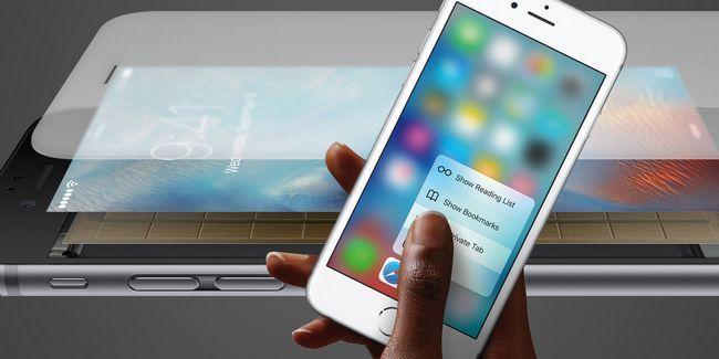 Todo lo que se puede hacer con un toque 3d en el iphone