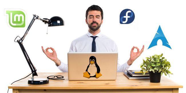 Por lo que no importa qué sistema operativo linux que utilice