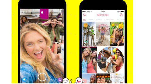 Snapchat en Mobile