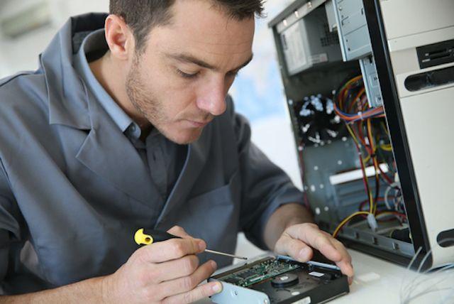 Tecnología de reparación de equipo