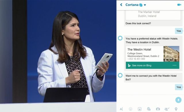 Cortana Skype Bot