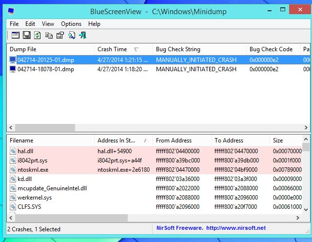 vista de lista de blue-pantallas-on-Windows-8.1