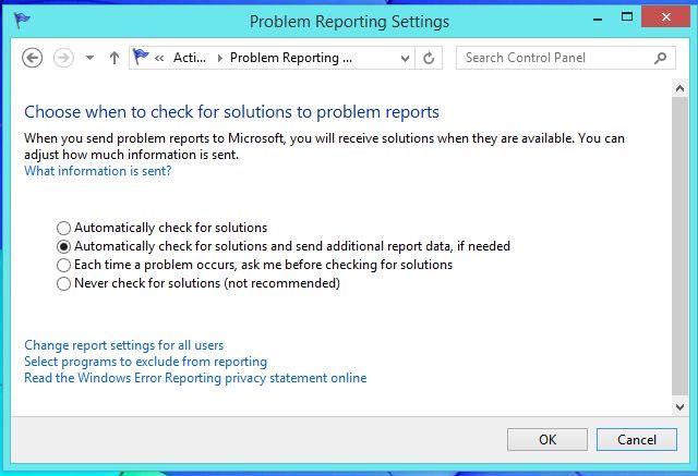 -y-soluciones de notificación cualquier problema de centro;